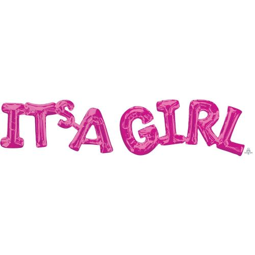 """It's A Girl"" Pink Phrase"